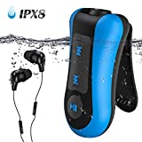 AGPTEK Bluetooth MP3 Player Mini Sport Musik Player mit Clip (IPX8 MP3)