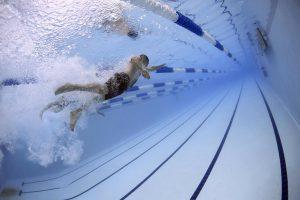 Stoppuhr für schwimmer