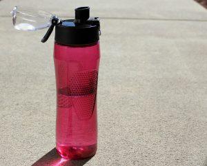 Trinkflasche für Schwimmer