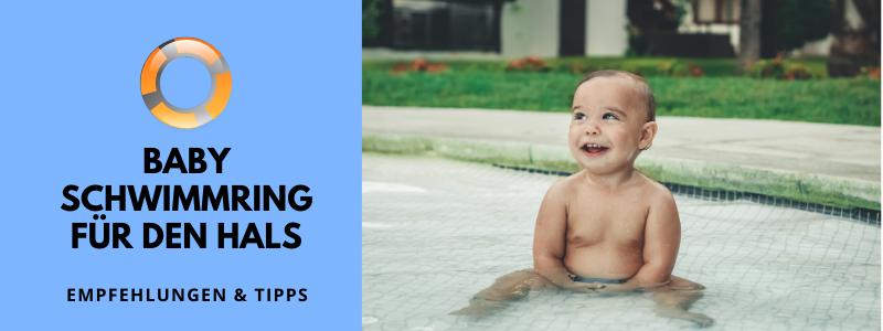 Baby Schwimmring für den Hals